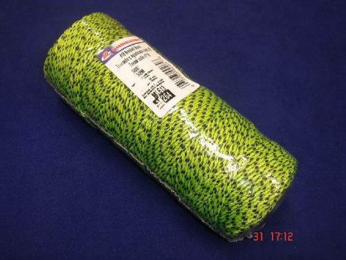 Marshalltown ML613 Braided Nylon Brick Block Line 152m Flecked Yellow 500ft Green Black